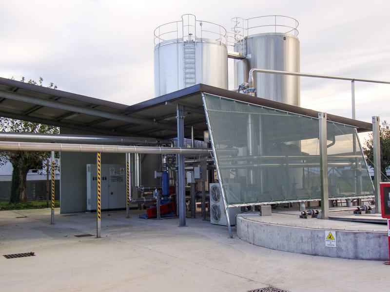 strutture biogas